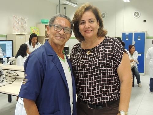 Pedro Cassiano contou com o empenho da coordenadora do curso, Ana Cristina Limeira, para comprovar sua formação anterior e participar do Proeja.JPG