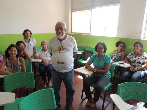 Único homem da turma, o ceramista Eduardo Faustino sai da Barra de Santo Antônio diariamente para estudar no Campus Maceió.jpg