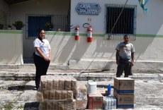 Casa do Bom Samaritano, em Penedo, recebeu parte das doações